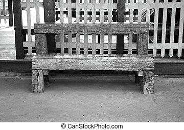 erdő, öreg, bírói szék