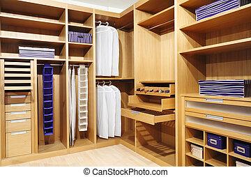 erdő, beépített szekrény