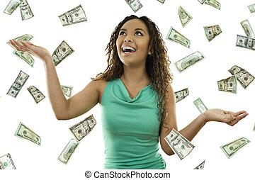 eső, -e, pénz