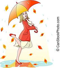 eső, tánc