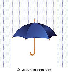 esernyő, eső, ikon