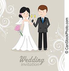 esküvő invitation