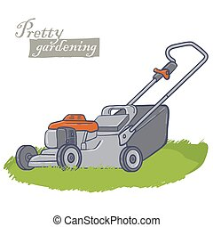 eszközök, kert, elektromos