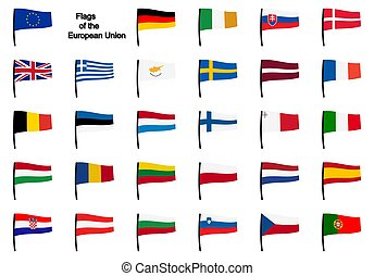 eu, zászlók, gyűjtés