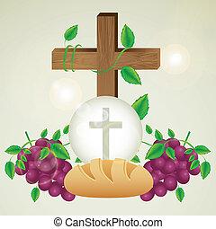 eucharistic, szentség