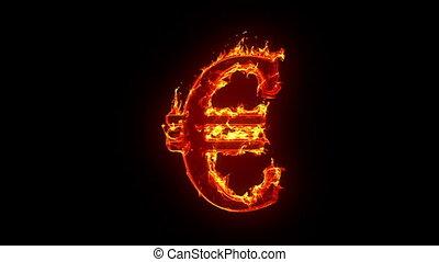 euro, égető, aláír