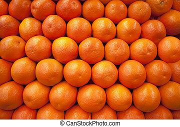 evez, narancsfák