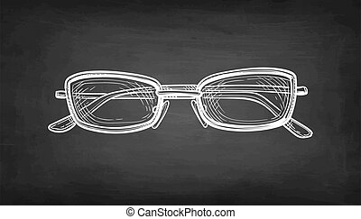 eyeglasses., skicc, kréta
