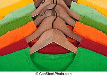 fából való, fényes, hirdetmények, trikó