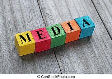 fából való, média, kikövez, szó, színes