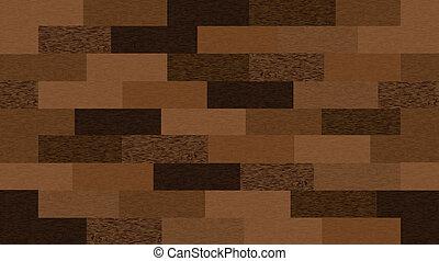 fából való, vektor, seamless, texture.