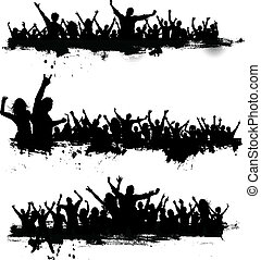 fél, grunge, összezsúfol