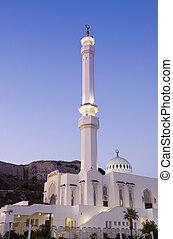 félhomály, mecset