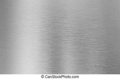 fém, háttér, ezüst, struktúra