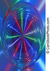 fény, elvont, forgás, disco, disco