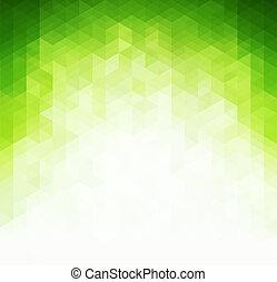 fény, elvont, zöld háttér