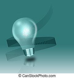 fény, fogalom, gondolat, gumó