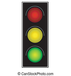 fény, forgalom