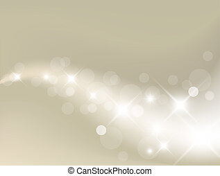 fény, háttér, ezüst, elvont