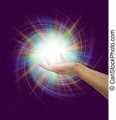 fény, isteni, látványos