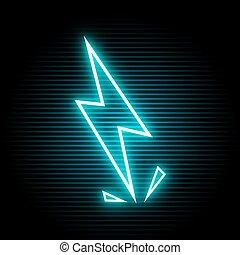 fény, jelkép, elektromos