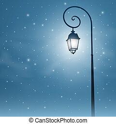 fény, utca