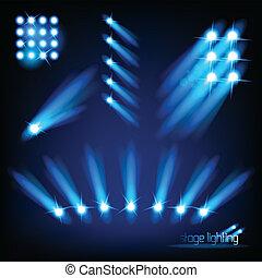 fény, vektor, alapismeretek, fokozat