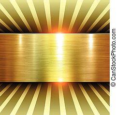 fényes, arany, háttér