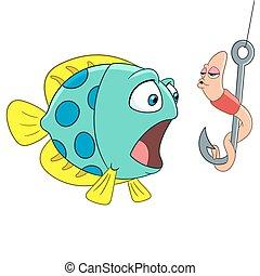 féreg, fish