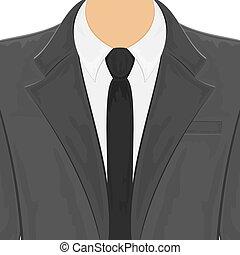 férfiak, black öltöny