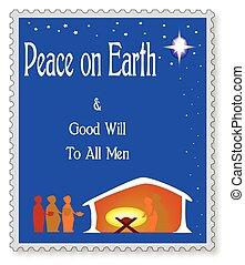földdel feltölt, béke
