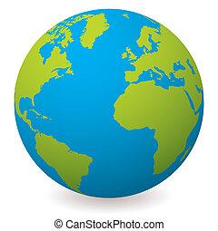 földdel feltölt földgolyó, természetes