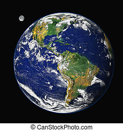 földdel feltölt, &, hold