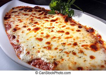 főtt tészta, lasagna