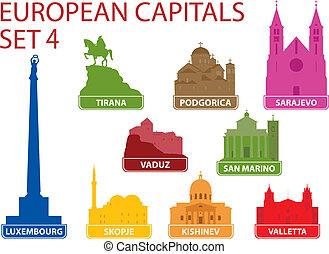 főváros, európai