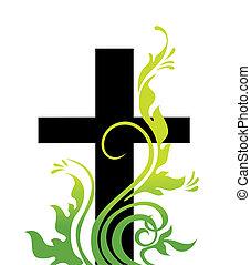 fű, húsvét, kereszt