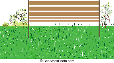 fű, zöld, bírói szék