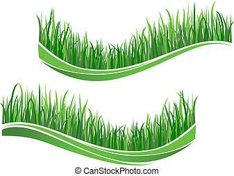 fű, zöld, lenget