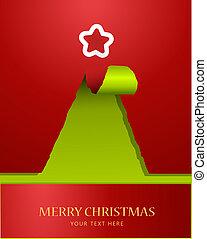 fa, dolgozat, teared, karácsony, tető, csillag