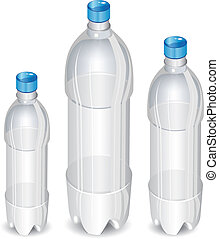 fa, palack, műanyag