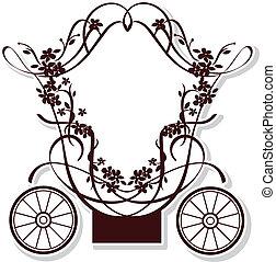 fairytale, kocsi