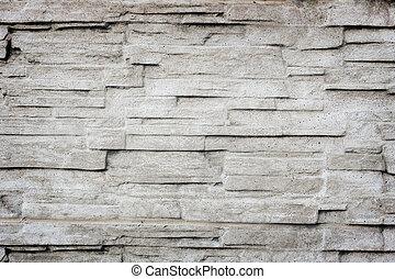 fal, megkövez, öreg, struktúra