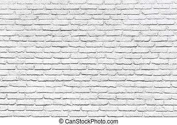 fal, white tégla, háttér