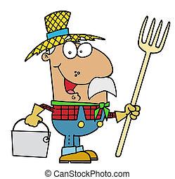 farmer, spanyol
