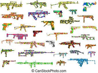 fegyver, álcáz