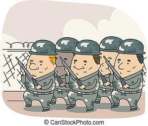 fegyveres erők
