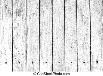 fehér, fából való, háttér., kimosott, öreg, struktúra, erdő