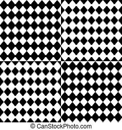 fehér, fekete, geometriai, háttér