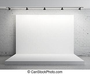 fehér, háttérfüggöny