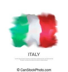 fehér, sablon, transzparens, lobogó, olasz, vektor, ünnep, olaszország, kreatív, design., nemzeti, háttér., hazafias, poszter, elvont, grafikus, nemzet